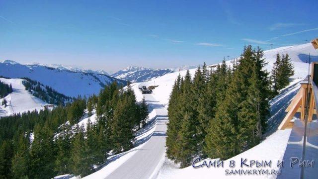 Снежные красоты Австрии