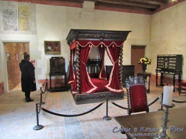 Спальня Леонардо да Винчи
