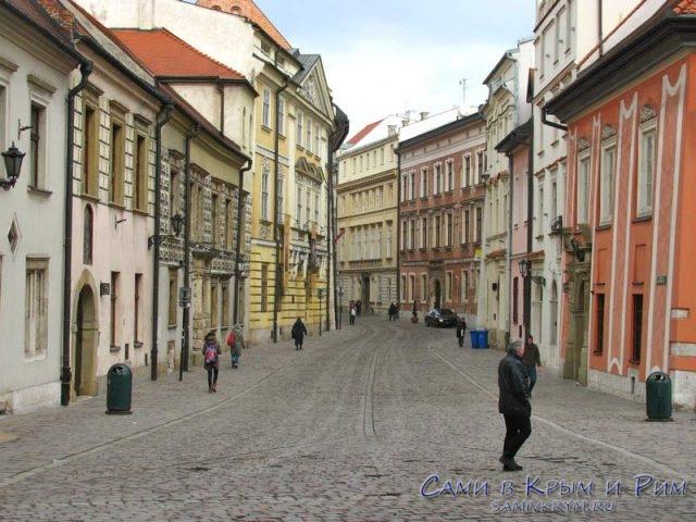 Центральный-улицы-Кракова