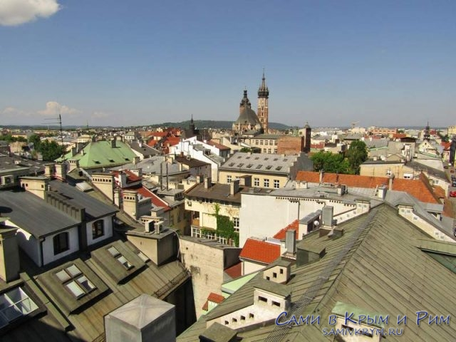 Вид-на-Краков-сверху