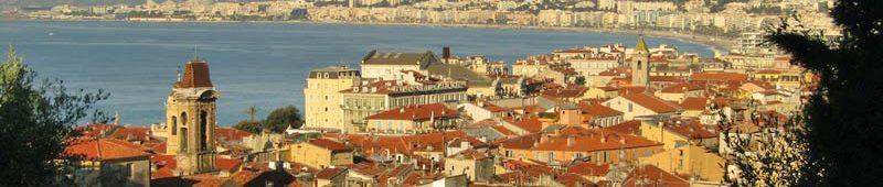 Вид на Ниццу с Замкового холма