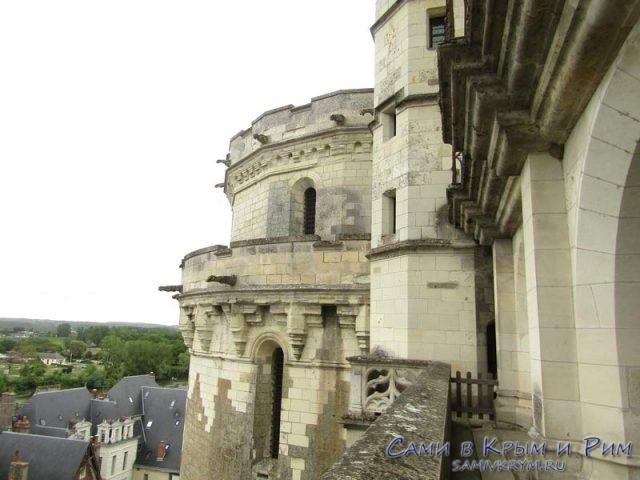 Видовые балконы в замке Амбуаз