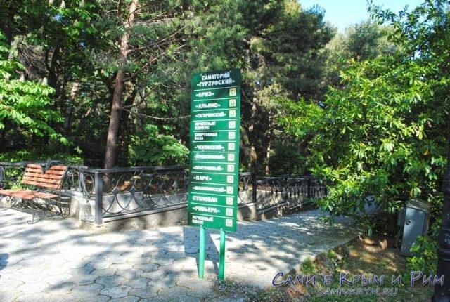 Указатели-на-территории-парка