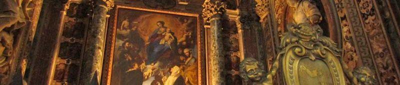 Алтарь церкви в Неаполе