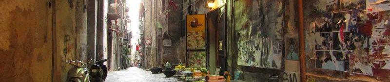Аутентичные улочки Неаполя
