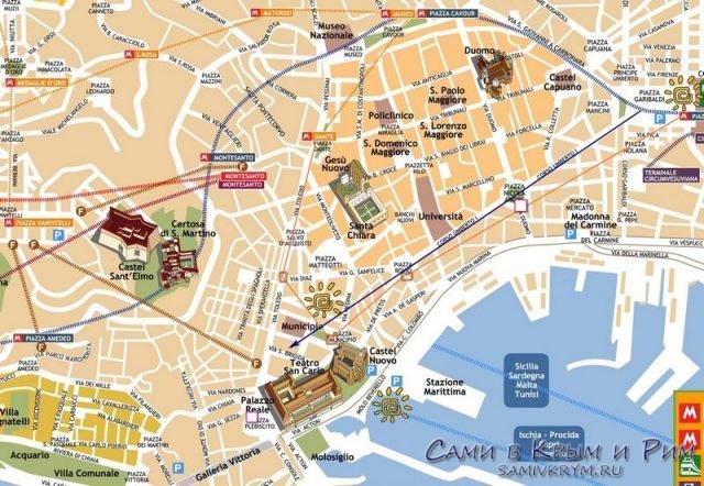 Napoli map