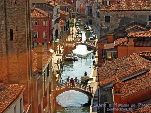 Очаровательные каналы Венеции