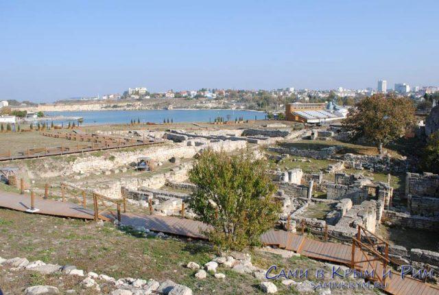 Портовый район и Грифон сцена