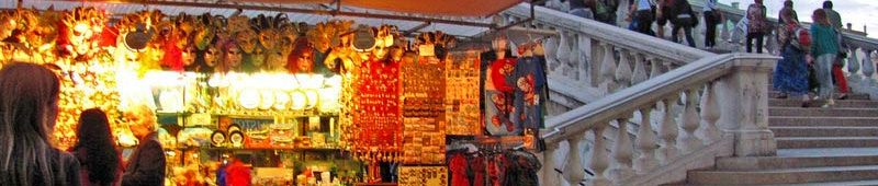 Сувениры у моста Риалто