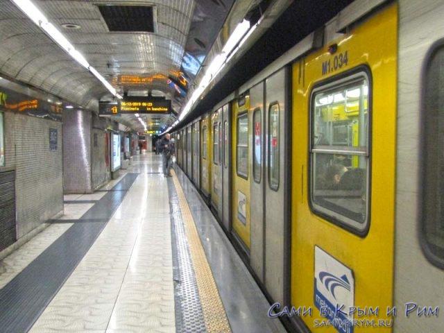 Желтая линия метро Неаполя