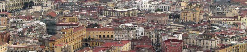 Застройка в центре Неаполя