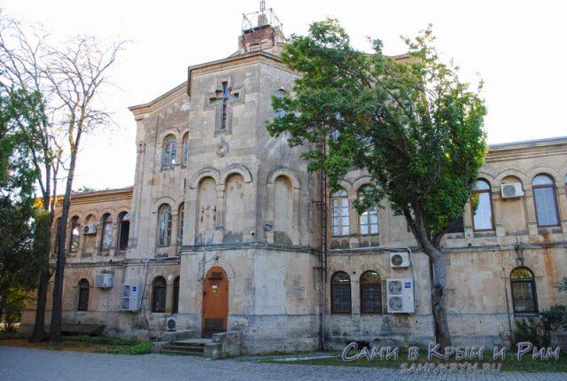 Здание Византийского отдела