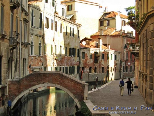 Архитектурные джунгли Венеции