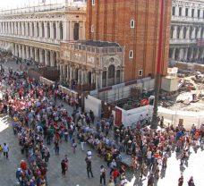 Очередь перед собором Сан-Марко