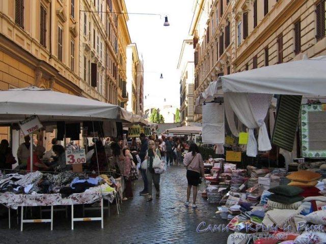 Уличные рынки в Риме
