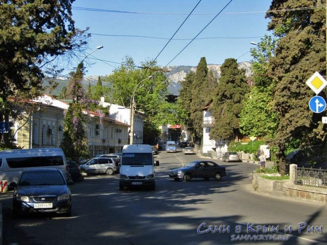 Улица Кирова в Ялте