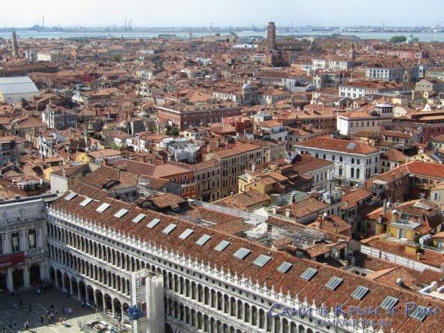 Венеция сверху