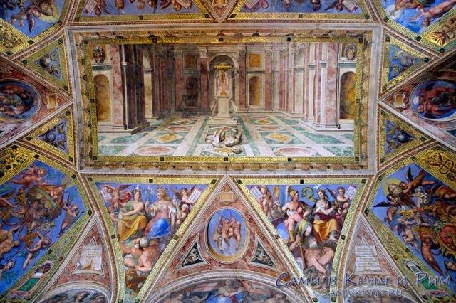 Фрески в зале Константина