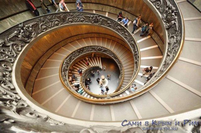 Лестница-а-ля-Браманте