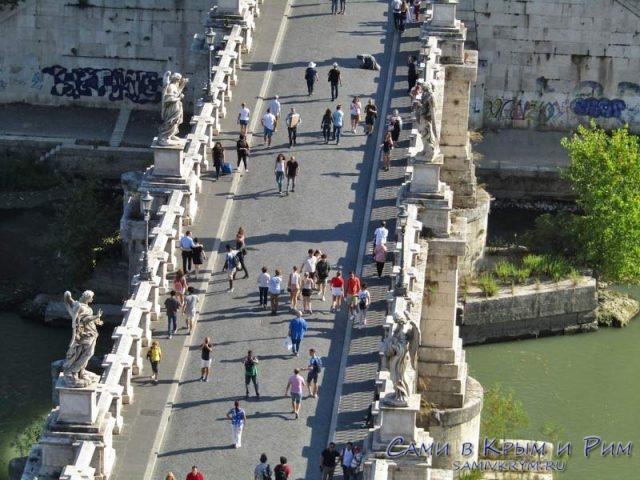 Мост Замка Святого Ангела