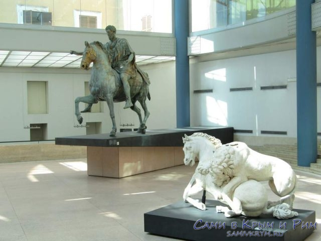 Оригинал статуи Марка Аврелия