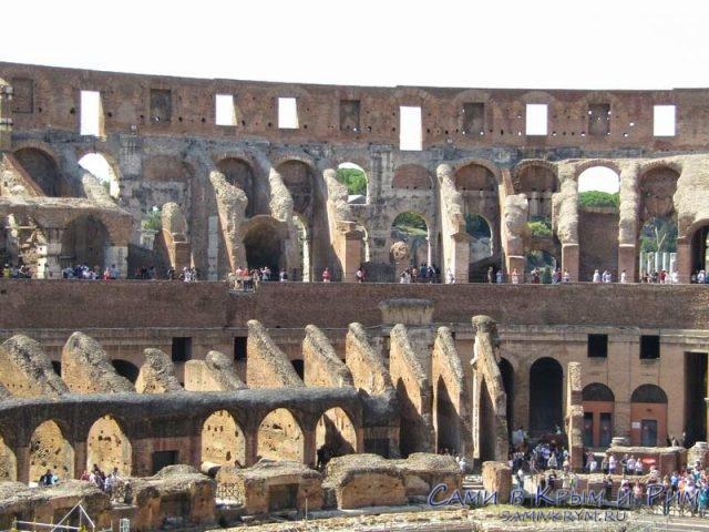Останки трибун Колизея