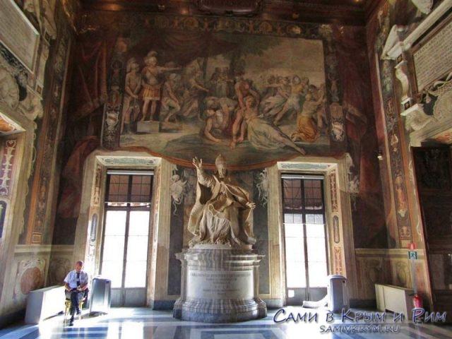 Папа Урбан VIII работы Бернини