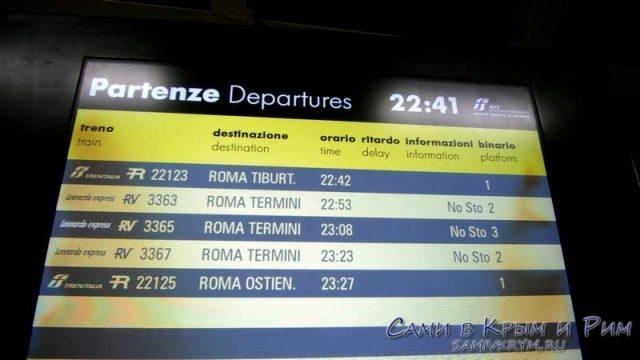 Расписание-поездов-из-аэропорта-Фьюмичино