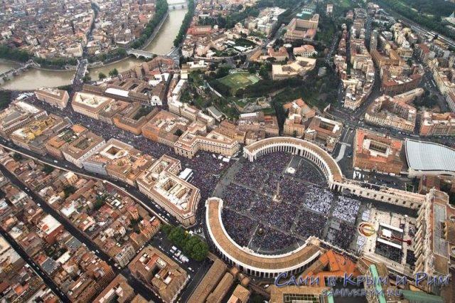Ватикан-вид-сверху