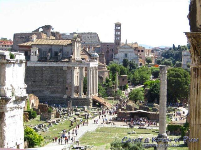 Вид на Римский Форум из Табулария