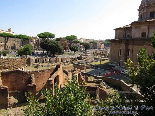 Вид-на-Римский-форум