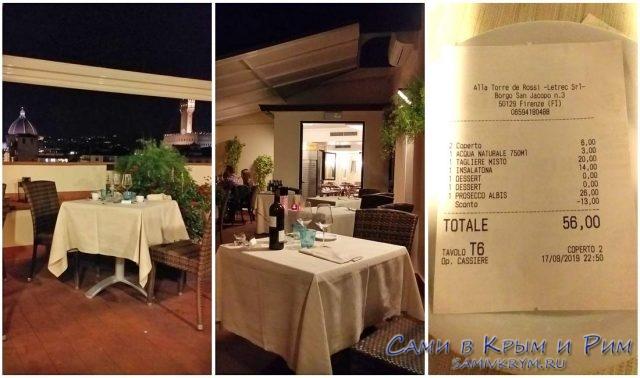 All-Torre-de-Rossi-счет-за-ужин