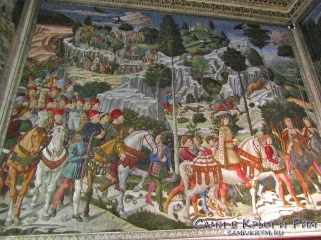 Гобелены в палаццо Медичи