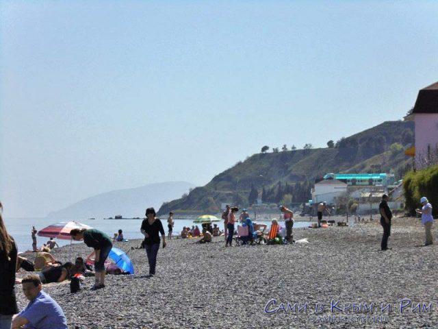 Пляж Солнечногорска