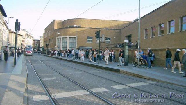 Вокзал Флоренции Санта Мария
