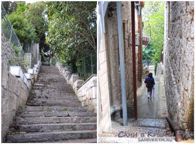 Алупка-город-лестниц