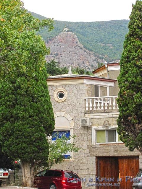 Фороская церковь вид из Фороса