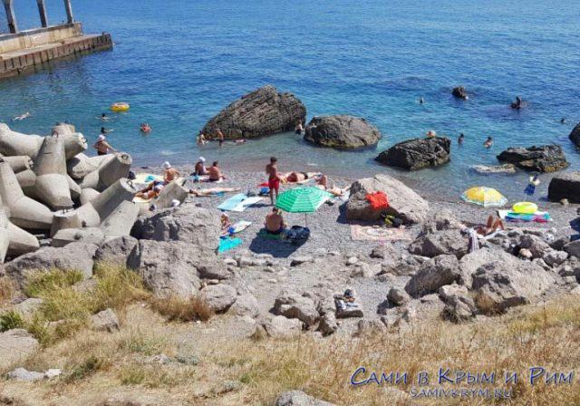 Пляжи-Кацивели