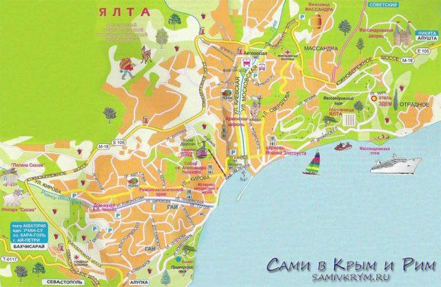 Ялта-карта