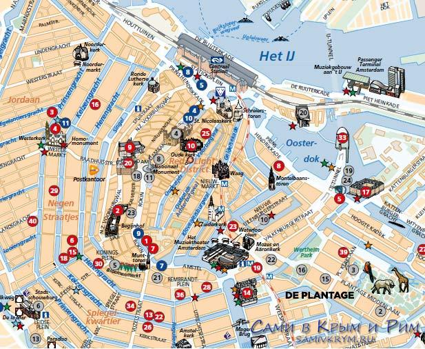 Amsterdam-city-center-map
