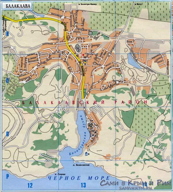 Балаклава-карта