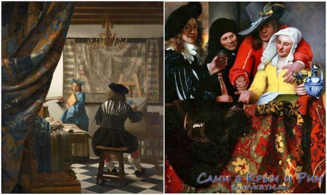 Ян-Вермеер-на-своих-картинах
