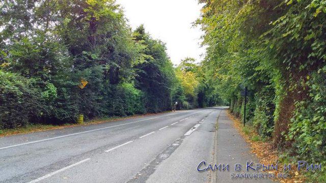 Дорога к замку Росс