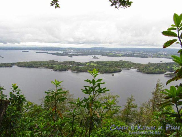 Вид на Большое озеро и Макросс