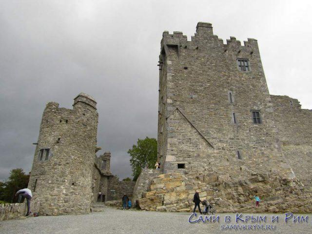 Замок Росс с башней