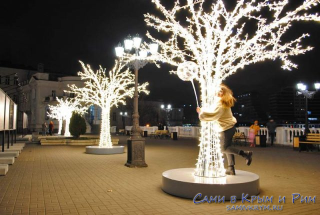 Подсветка к Рождеству