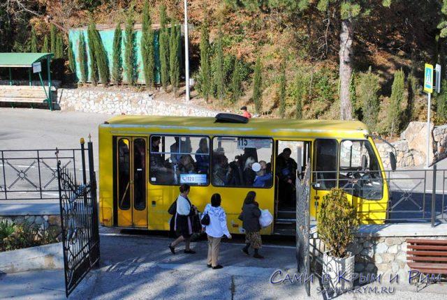 Автобусы на ЮБК