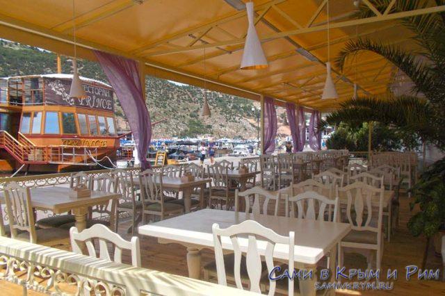 Кафе Балаклавы на набережной