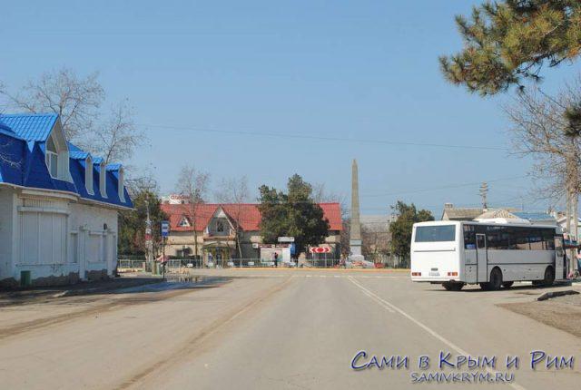 Автостанция в Николаевке