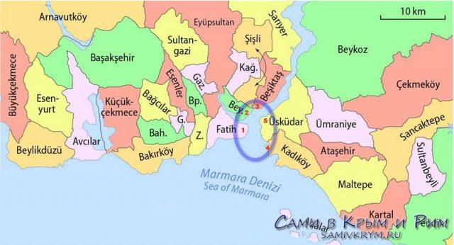 Районы-Стамбула